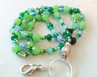Aromatherapy Lanyard - Forest and Sky