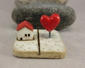 MyLand -  Lovely Day - Collectible 3x3 cm or 1.2x1.2 in. puzzle in stoneware