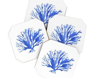 Sea Coral Coaster Set