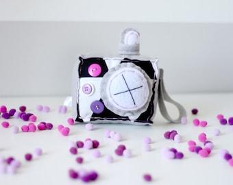 Purple Nurple Plush Camera