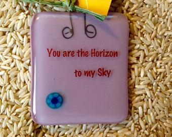 You are the Horizon Stand-up Plaque by Design4Soul