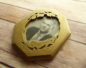 Small Gold Ornate Frame