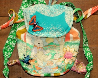 little bunny picnic backpack