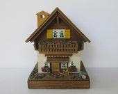 Sweet Reuge Swiss Chalet Music Box - Edelweiss