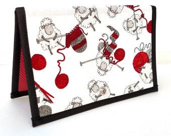 Knitting Crochet Pattern Holder - miPattern Wallet Chart Keeper -  Wooly Gifts For Ewe