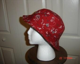 Alabama Crimson Tide Game Day Team Bucket Hat