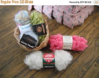 ON SALE Miniature Yarn Stash