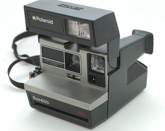 Polaroid Camera Sun 600 Vintage Camera Instant Works