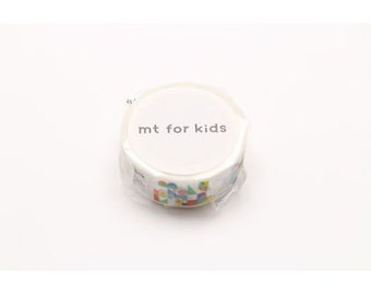mt for kids- washi masking tape - building blocks
