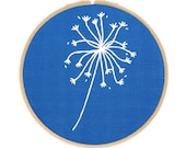 Botanical Embroidery Series - Dandelion