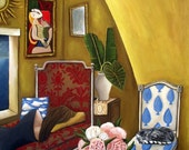 Fine Art Print of an original painting by Catherine Nolin