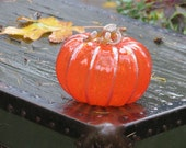 "Blown Glass 5"" Pumpk..."