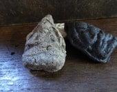 Artisan made Buddha ceramic amulets - set of 3