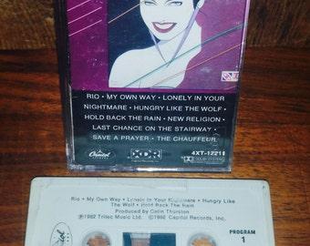 Duran Duran Rio Vintage Cassette Tape