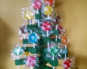Candy Lollipop Tree, wooden, holds 28 lollipops, included