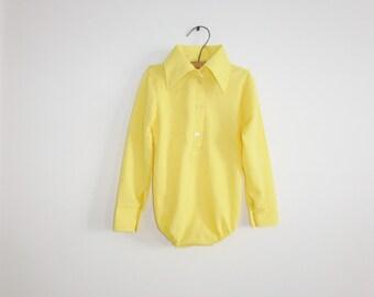 Vintage Yellow Shirt