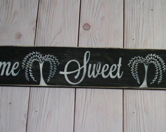 Home Sweet Home sign - Home Sweet Home - Home decor - Housewarming gift - Home sign - Wood sign - Rustic wood sign - Rustic home decor -