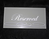 Reserved Listing for Vanessa, hand painted wedding runner/banner