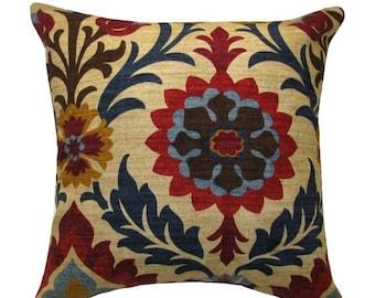 Santa Maria Gem Floral Decorative Throw Pillow Free Shipping