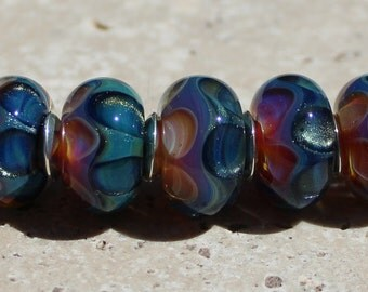 SAMOA Artisan boro beads by JRG
