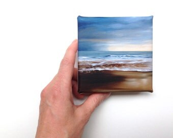 beach seaside mini canvas print