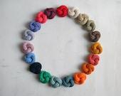 Men lapel pin. Knot pin - Cotton boutonniere. Men accessories. Custom lapel pin. Choose your own color.