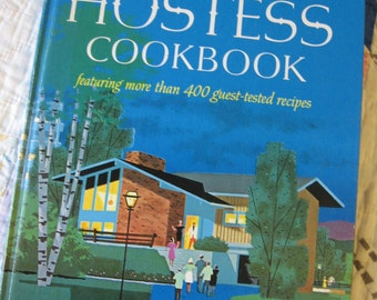 Hardcover Vintage 1967 Hostess Cookbook from Betty Crocker