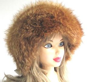 Fur Goodness Sake...Vintage Real Fur Hat ~ SALE was 75.00