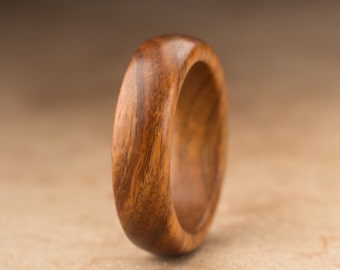 Size 7 - Guayacan Wood Ring No. 362
