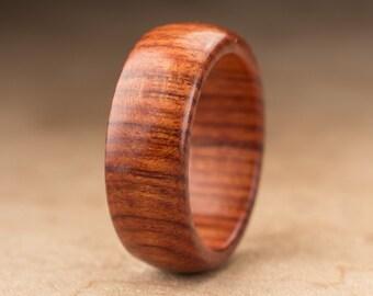 Size 8.5 - Mopani Wood Ring No. 111