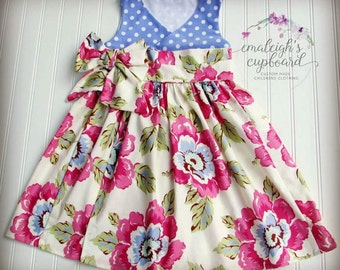 SALE Back to school Wrap dress girls
