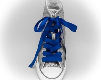 Shoelaces | Satin 5/8 Inch Ribbon High Quality Custom Shoelaces