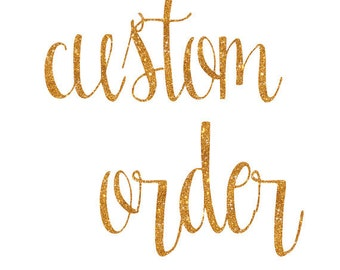 Custom listing for Macey - SHIP June 27th