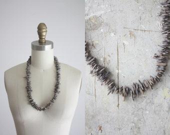 1970s slate necklace