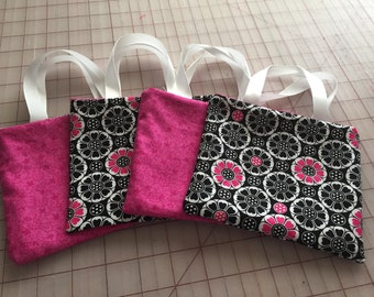 Black, White and Pink Mini Gift Bags