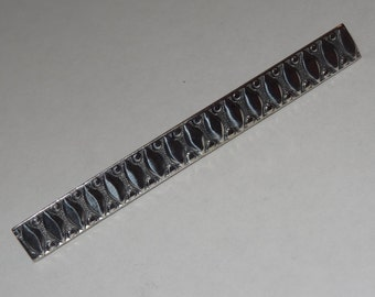 Vintage Sterling Silver Native American Bar Pin