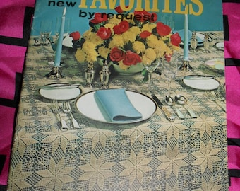 Vintage Coats and Clark's crochet Book - Old and New Favorites by Request 1964 - Patterns