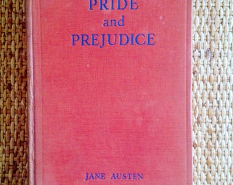 Jane Austen Pride and Prejudice Vintage Book