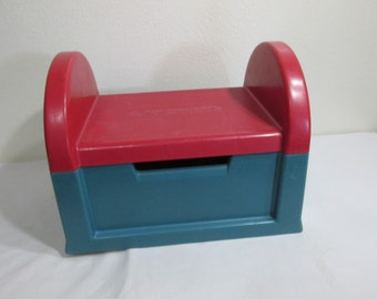 Fisher Price Stool Toddler Mail Box Step Up