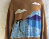 Vintage Scenic Sweater