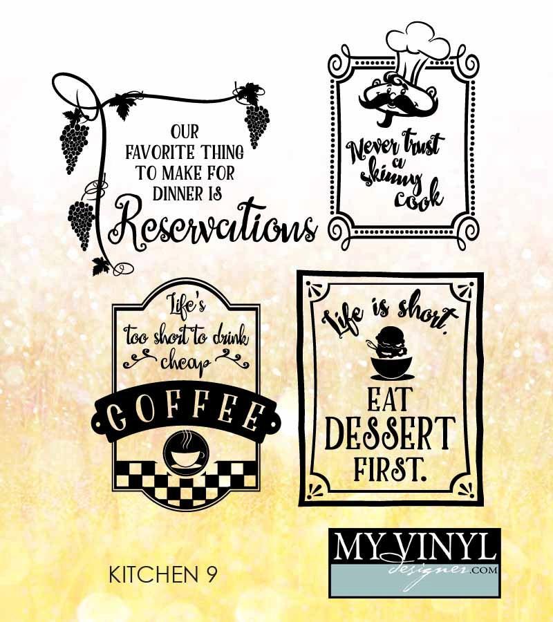Download Kitchen SVG Files Kitchen Cuttable SVG Files Svg Eps Gsd