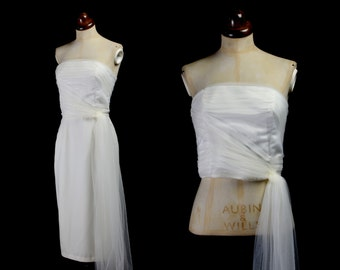 Aria - Tulle Strapless Bridal Bodice Top - Made to Order - Free Shipping Worldwide