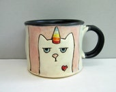 Small Caticorn Mug, Proceeds To Be Donated To Pulse Victims GoFundMe Page