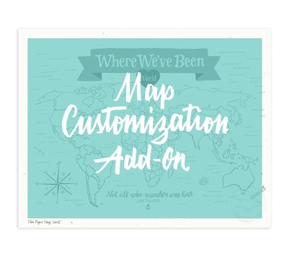 Map Customization Upgrade Add-On