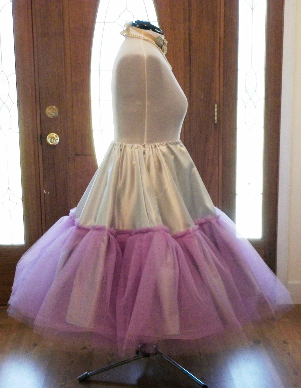 how to make a crinoline for a wedding dress