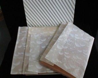 Hosiery  ~ Womens  3 pair Seamless  Nylon Stockings In Box  ~ 3 Pair of Vintage Stockings In Vintage Box