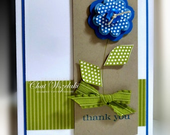 Stampin' Up Thank You Friend Card