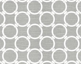 Premier Prints - Linked Slub/Ash Grey -  Home Decor BTY