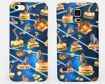 Junk Cat From Outer Space - iPhone / Samsung Galaxy Case