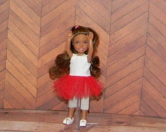 CHLSETUTU-07) Chelsea doll clothes, 1 set of leggings with TUTU top
